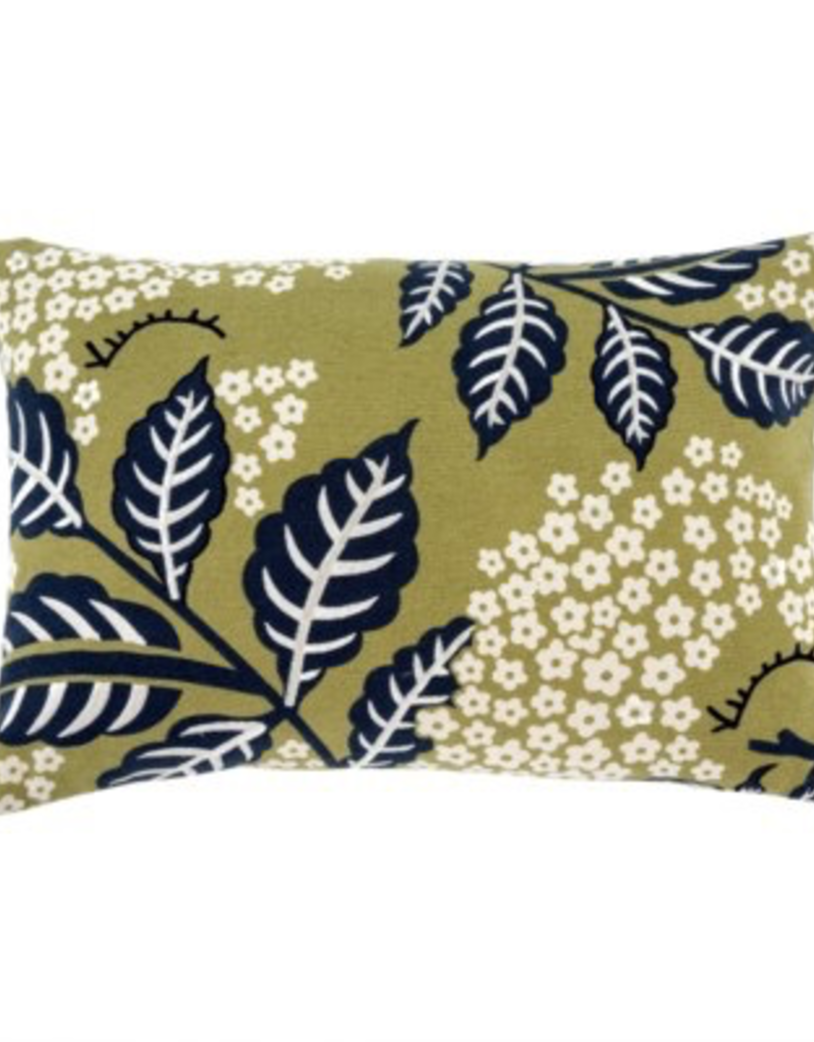 "16x24"" Navy Printemps Pillow"