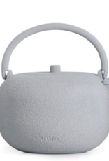 Teapot, Cast Iron, Grey, Saga