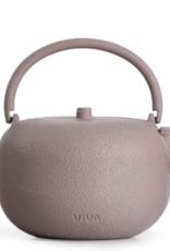 Teapot, Cast Iron, Pink, Saga