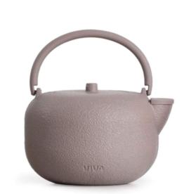 Saga Pink Cast Iron Teapot