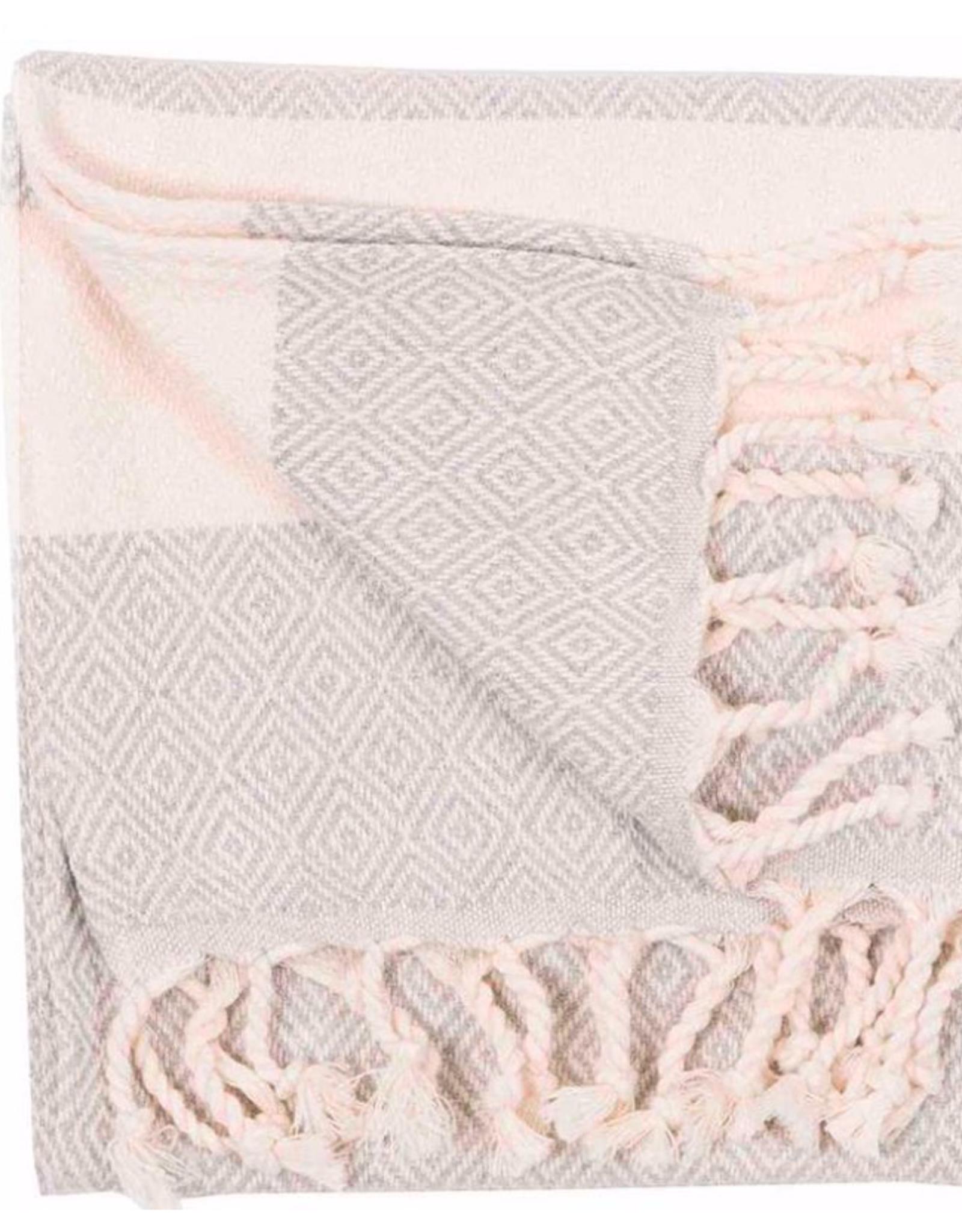 Turkish Towel, Hand, Diamond, Mist