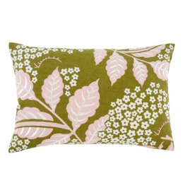 "16 x 24"" Pink Printemps Pillow"