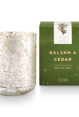 Xmas Candle, Balsam & Cedar, Luxe Sanded Boxed Tumbler