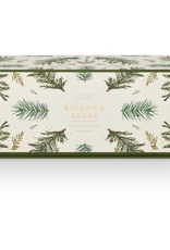 Candle, Holiday Gift Set, Balsam & Cedar