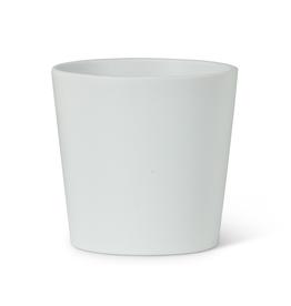 """3.25"""" White Stockholm Tapered Planter"""