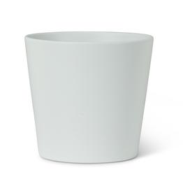 "White Ceramic Classic Taper Planter 5"""