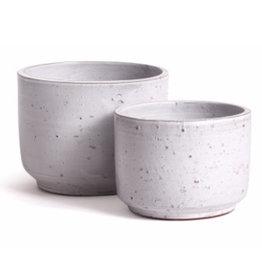 Large Light Grey Rough Textured Arion Pot