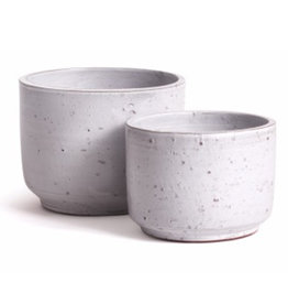 Small Light Grey Rough Textured Arion Pot