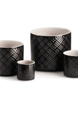 Large Charcoal Alicante Pot