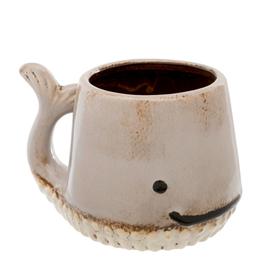 Taupe Whale Mug