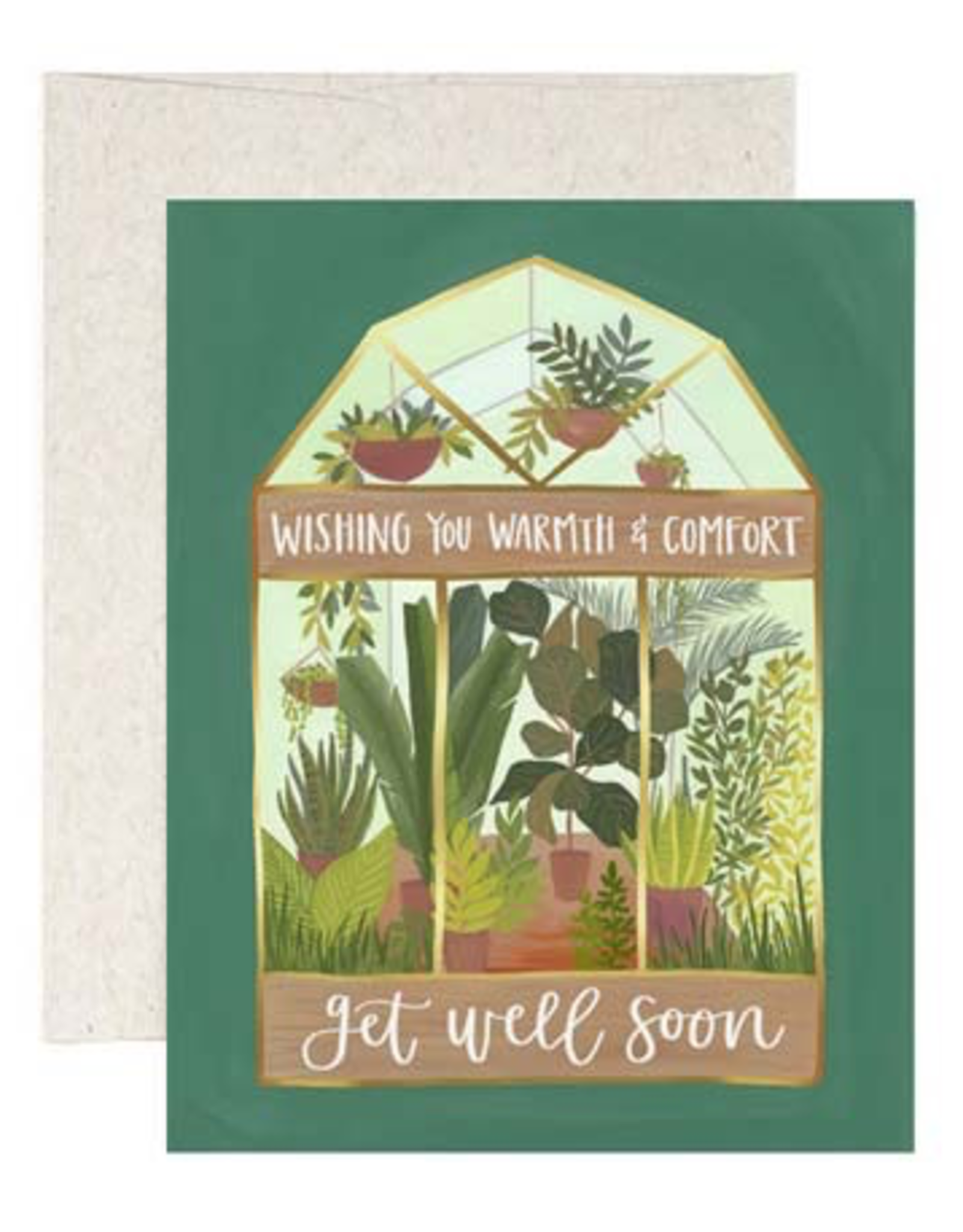 Card, Get Well, Greenhouse