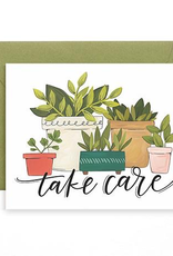 Take Care Plants Card