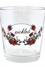 Pickled Double Old Fashioned Glass, Fishs Eddy, 12 oz.