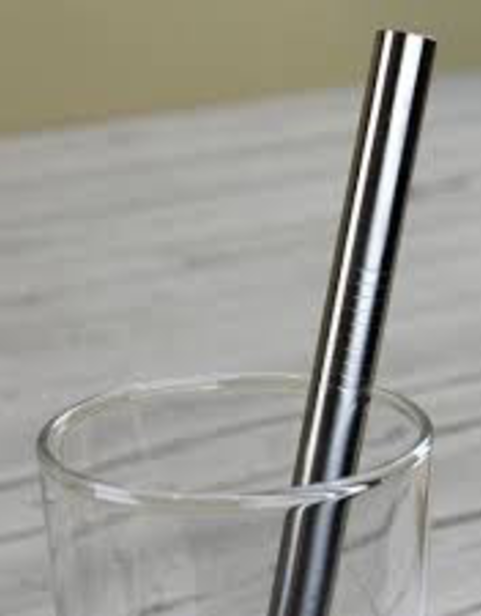 Straw, Stainless, Wide 8mm