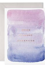Card, Peace, Comfort, Stength