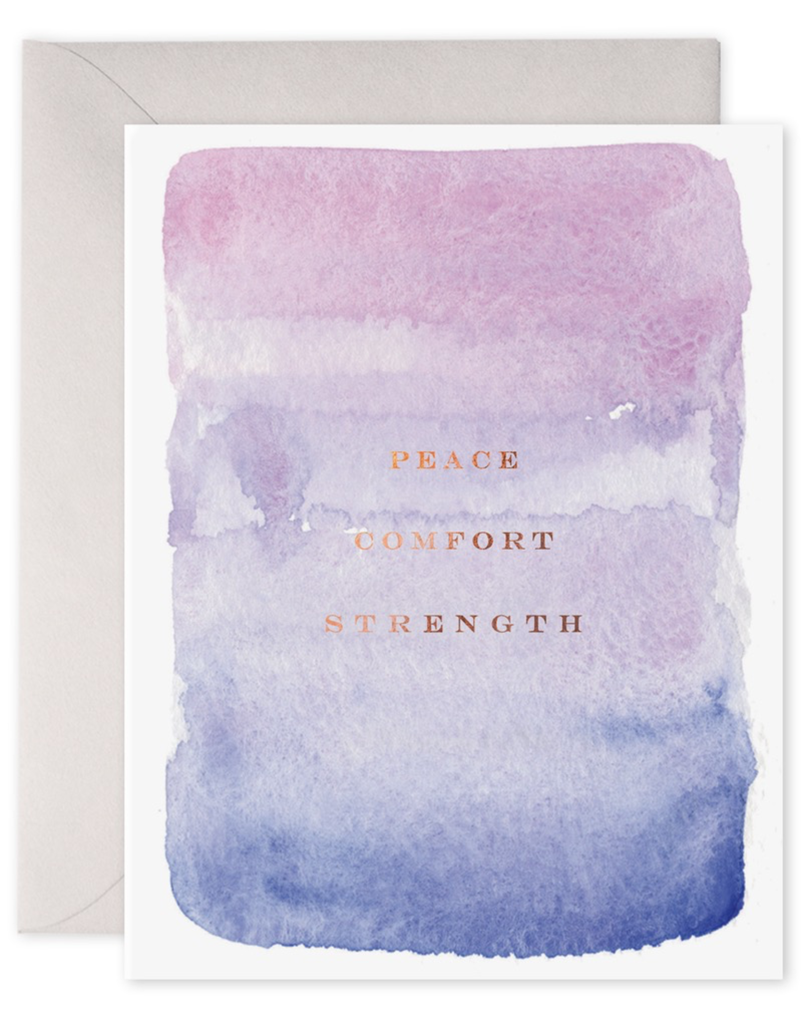 Peace, Comfort, and Strength Card