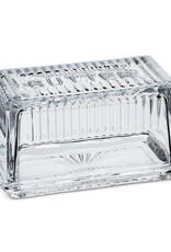 Butterdish, Large Rectangle, Glass