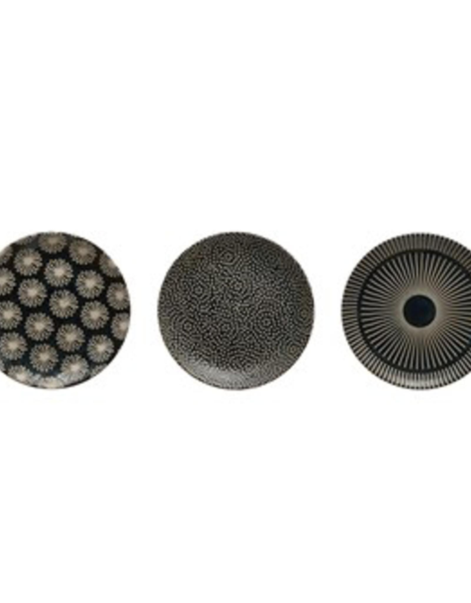 """Plate, 5"""" Round Stoneware, Midnight Blue"""