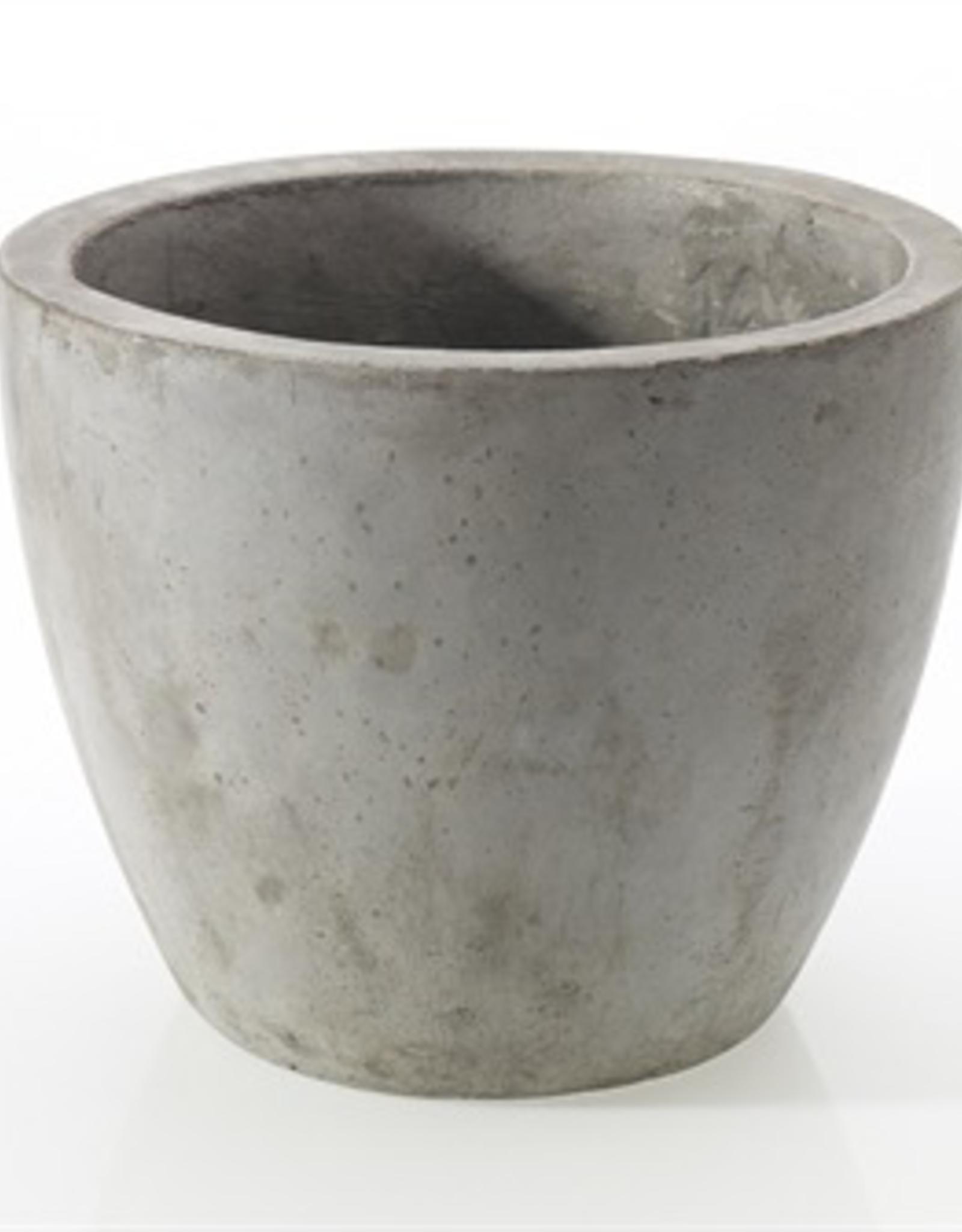 """Newport Pot, Grey, 7.8""""x 7"""""""