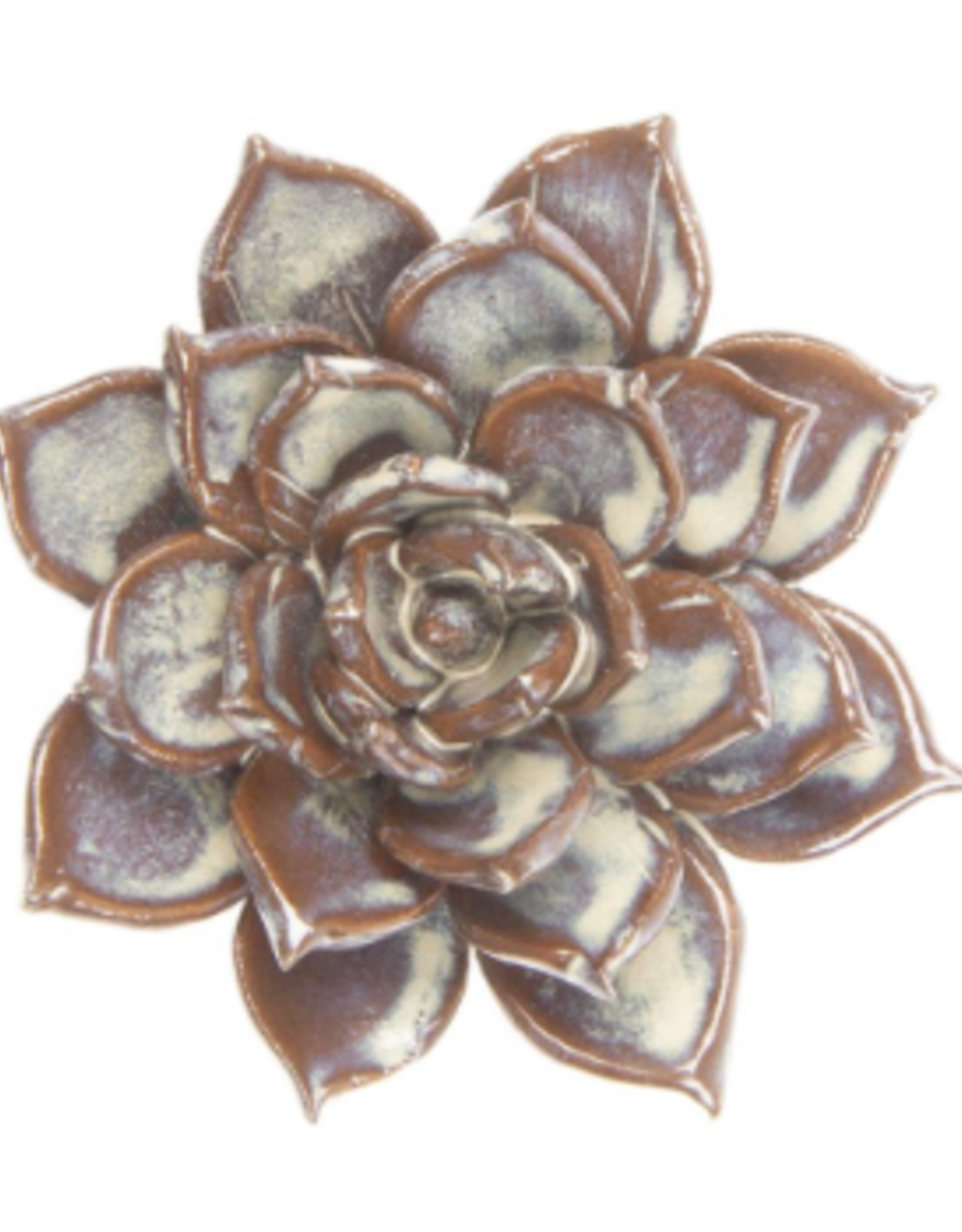 Ceramic Flower, Small Cream