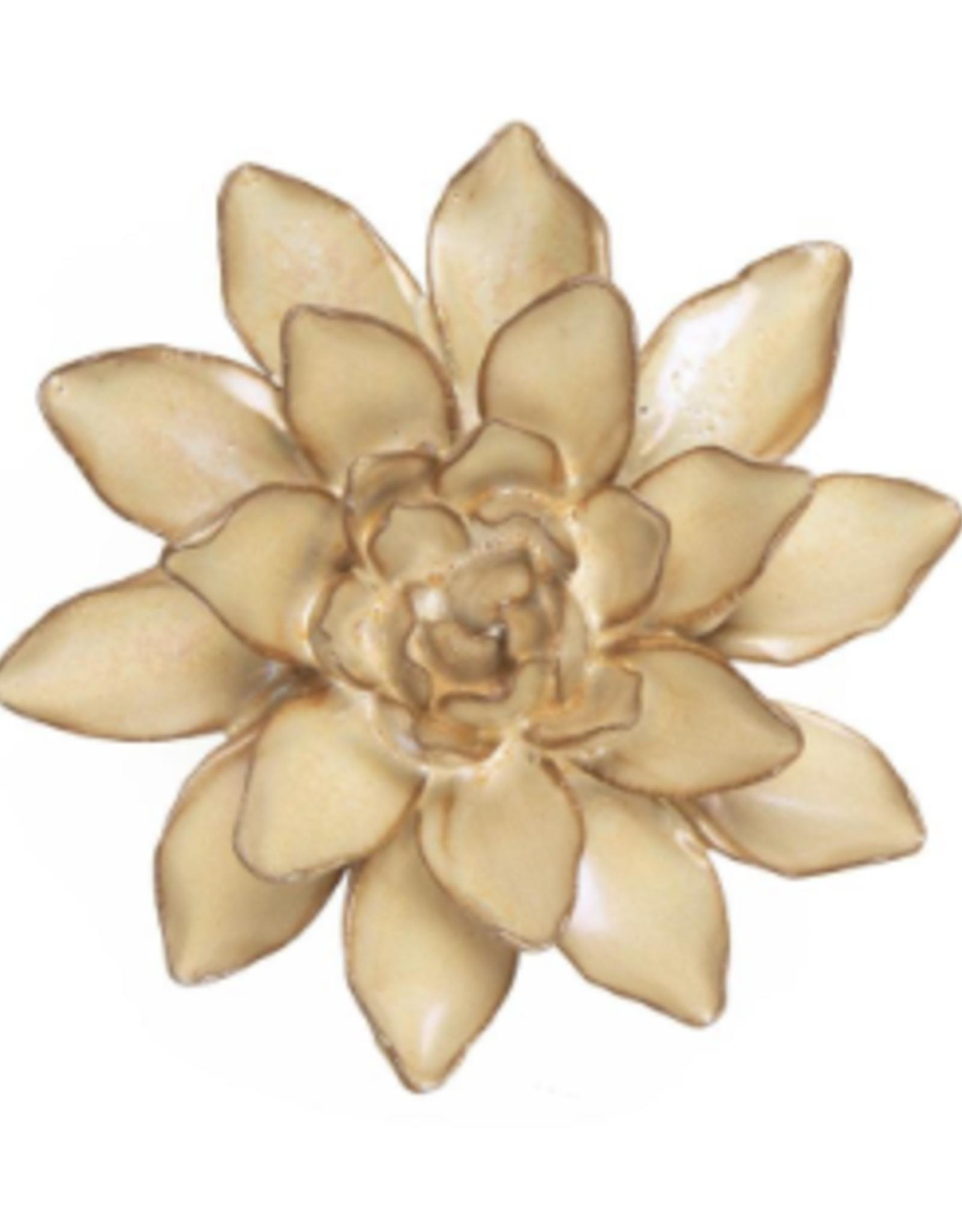 Small Pearl Ceramic Flower