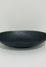 Bowl, Oval, Matte Black, Elan, 7.8""