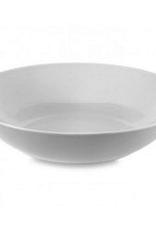 """Round White Pasta Bowl, D10"""""""