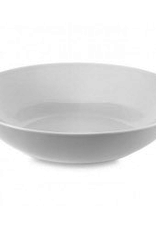 """Round White Pasta Bowl, D12"""""""