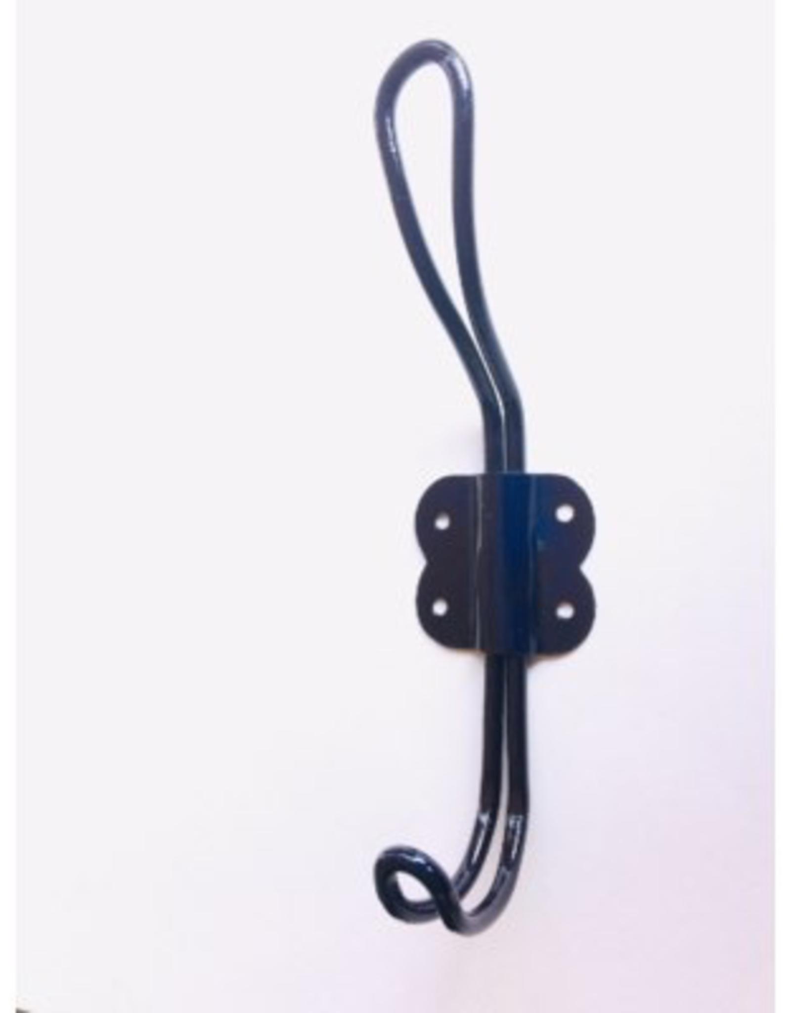 Blue Arran Wire Iron Hook