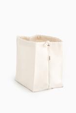 Organic Cotton Storage Bag, Stands Upright, Large