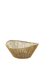 Basket, Gold Rhythm Wire