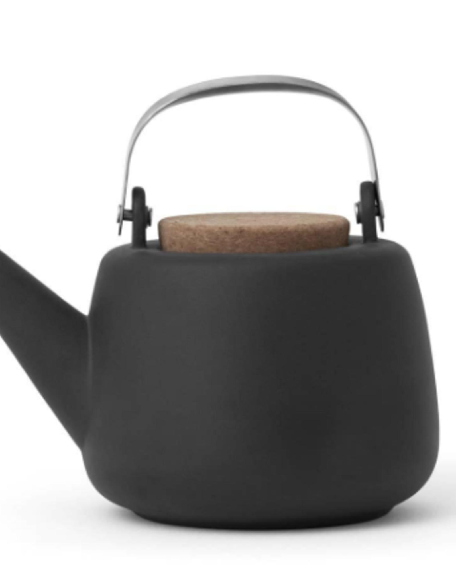 Nicola Grey Porcelain Teapot