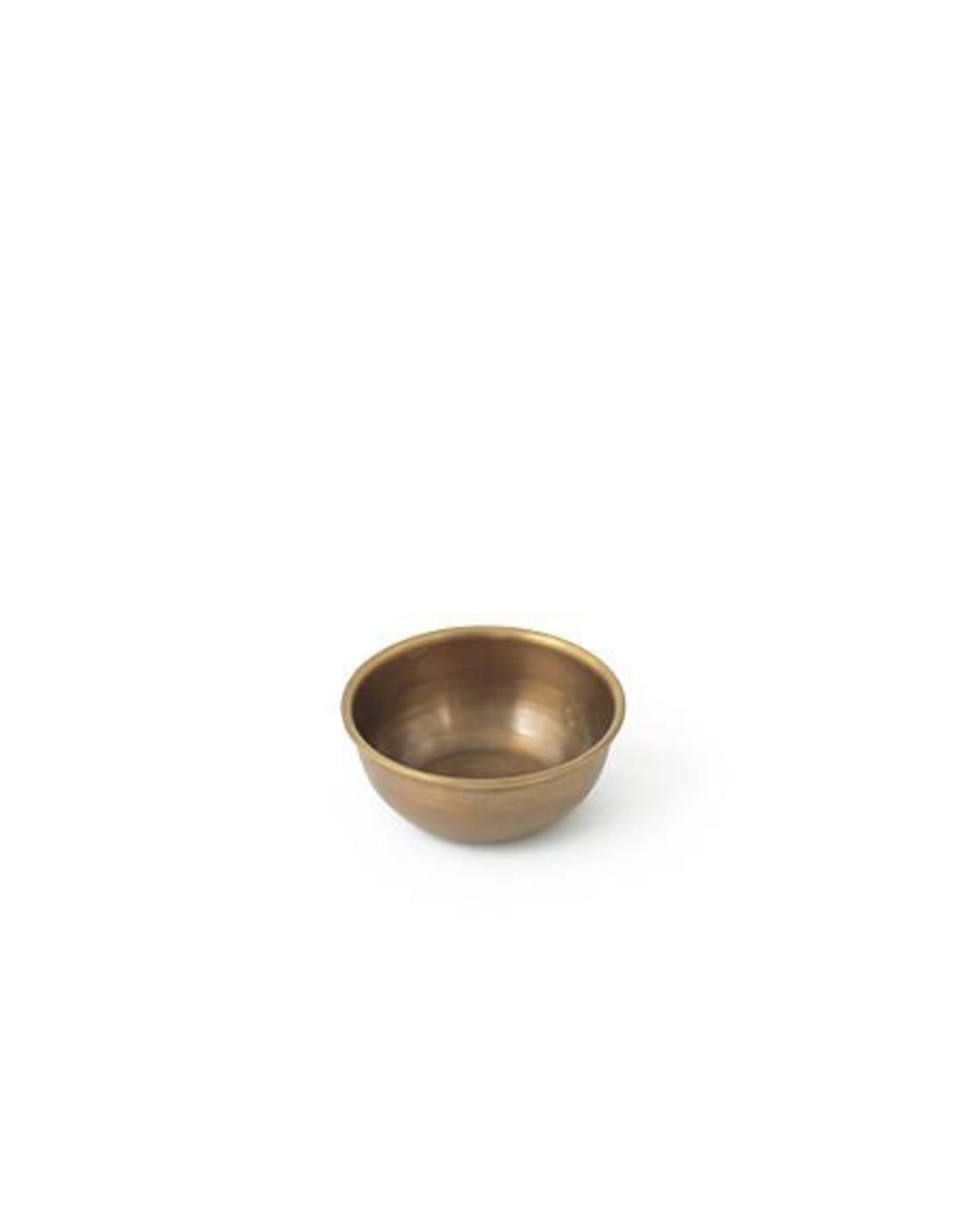 """Brass Bowl, 3.5"""""""