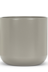 "Planter, Dark Grey Ceramic, 7"""