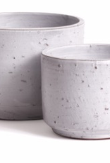 Large Light Grey Rough Textured Arion Pot