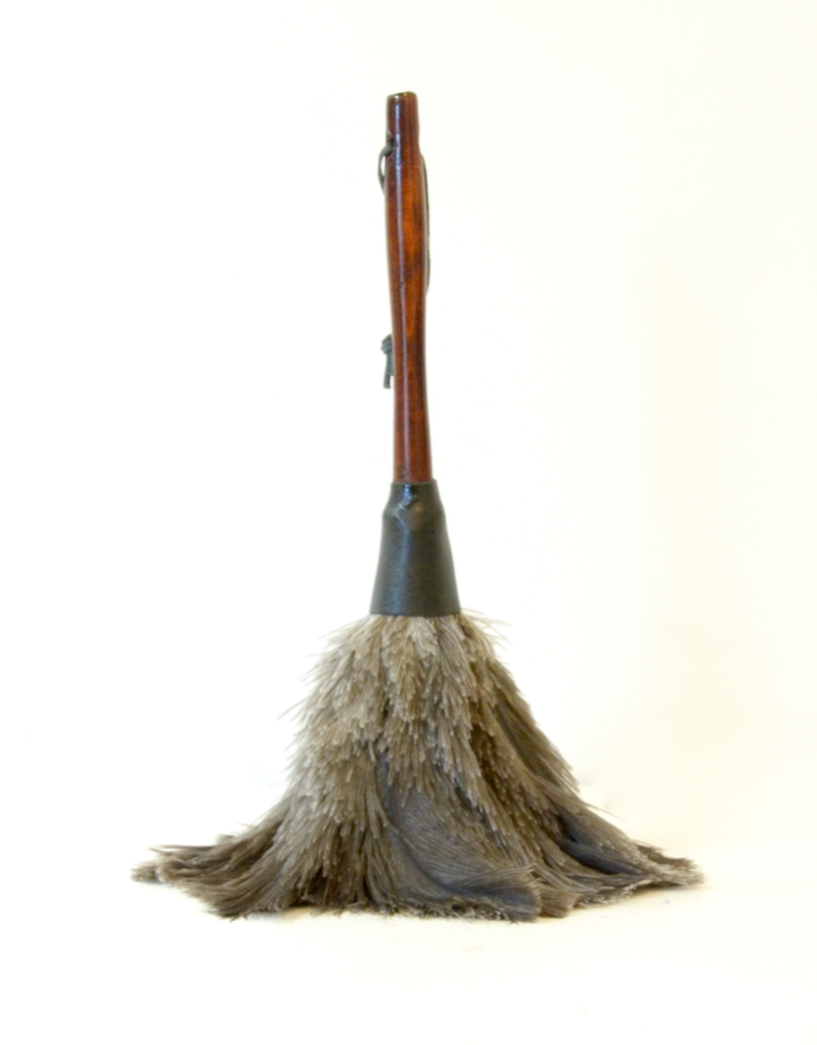 Ostrich Feather Duster with Wood Handle