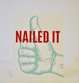 Card, Nailed It