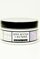 Body Butter, Lavender,  8oz