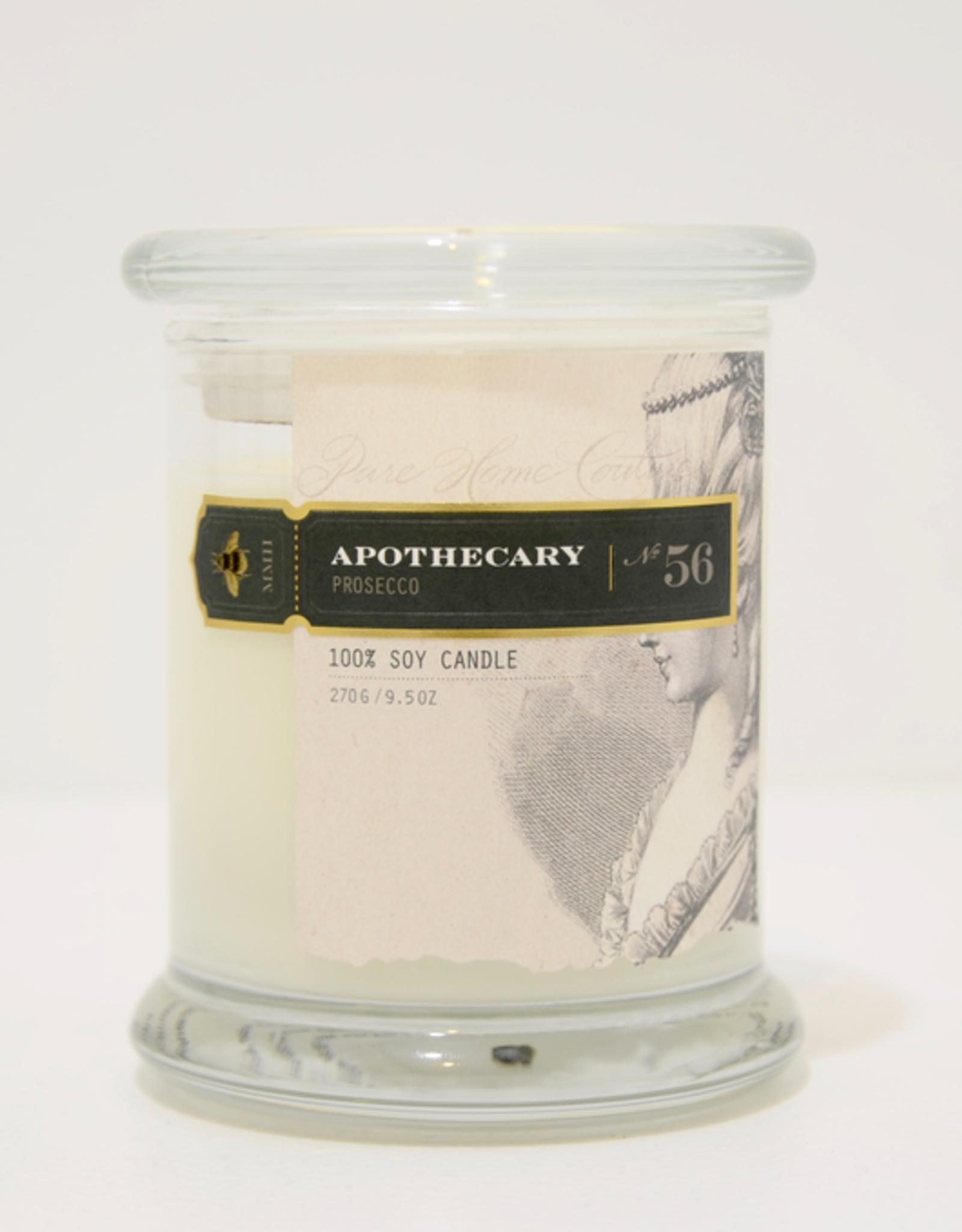 Candle, Prosecco