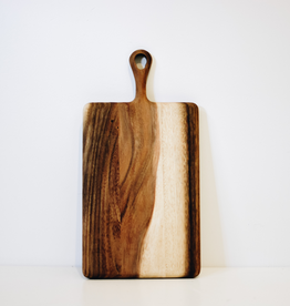 Small Rectangular Acacia Board With Handle