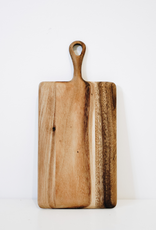 Mini Rectangular Acacia Board With Handle