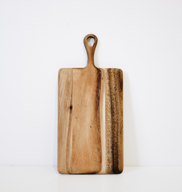 Mini Rectangular Acacia Board With Handle