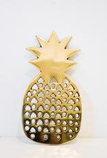 Pineapple, Trivet, Gold