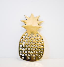 Pineapple, Trivet, Gold