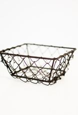 Small Square Wire Berry Basket