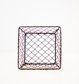 Medium Square Wire Berry Basket