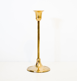 Candlestick, Antique, 3.25x8.25