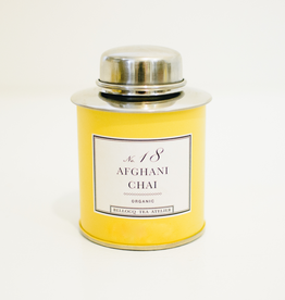 No.18 Afghani Chai  Yellow Traveler Caddy 128g