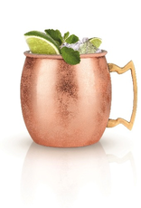 Mug, Moscow Mule, Copper Cocktail, Stainless Steel Frame, With Copper Coated Overlay