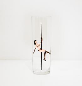 Glass, Strip Tea 13-1/2oz